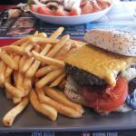 Famous bacon burger