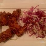 the fried chicken...superb!