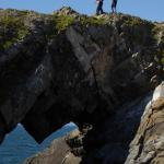 Crossing Devil's Bridge on the Worm's Head