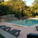 La piscine tot le matin