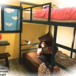 Bunk Bed (for Two) share Bathroom Room#2