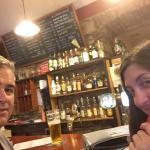 Having a drink in Iluze