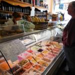 Amazing selection of fillings for sandwiches and salads!