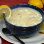 Homemade Chicken Lemon Soup