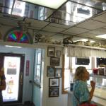 Inside the Hobby Horse Ice Cream Parlor