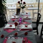 la table pour mon anniversaire