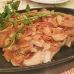garlic chicken steak