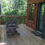 #1, White Pine, Deck