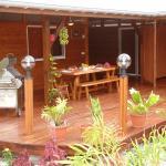 Deck - Table d'hôtes