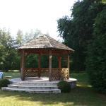le kiosque dans le parc