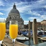 Breakfast Mimosas at the Westin Europa and Regina Hotel, Venice