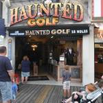 Haunted Golf entrance.