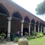 Uma lateral do museu