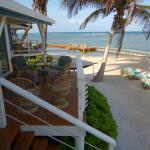 Oceanfront patios