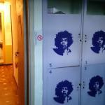 Habitacion 4 - Vista pro corredor e armários