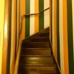 Escadas de acesso ao 2º piso
