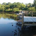 Campsite docks