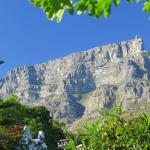 View of Table Mountain from hotel