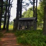 The poet Edna St. Vincent Millay's writing cabin