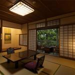 雲仙の豊かな自然を満喫できる和室