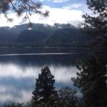 Lake Vallecito - view from cabin deck