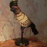 エミールガレのオウムのランプ