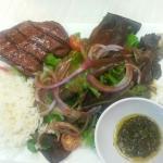 Sirloin Steak & pinrahna steak