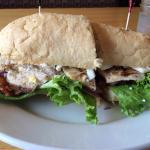 Chicken Cobb sandwich. Delicious!