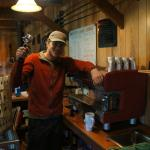 Dave Magoffin-Saltery Lake Lodge Host, Pilot and Barista!