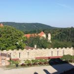 View from Veveri Castle