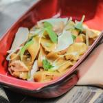 Home-made tagliatelle with rabbit ragout