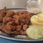 Lagrimas de pollo, deliciosas.