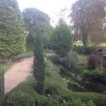 View of front garden with stream