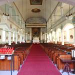 L'Assomption Church interior near L'Auberge Inn
