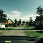 Typische Straße in der Mietshaussiedlung
