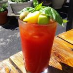 Basil Bloody Mary - Perfect for Brunch on the patio!