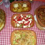 Food at Gradska restaurant