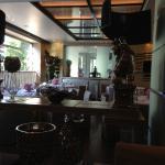 Vue salle de petit déjeuner