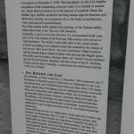 Gent - Belfry description by the entrance