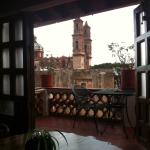 View to El Studio veranda