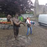 The Quite Man Statue