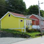 Colorful houses of Alert Bay