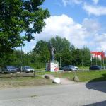 Parkplatz Gesamtansicht