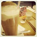 Eiskaffee am heißen Tag! Einfach lecker.