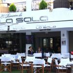 Outside La Sala