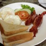 朝食 十分です