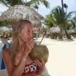 Coco-loco on the beach)