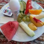 Turkish Breakfast in Nur Pension