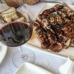 Şarap ve kalamar