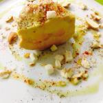Foie gras , aux noisettes fraîches ... Restaurant le M.